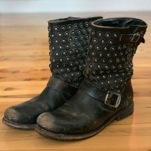 Frye Jenna Disc Short Moto Boot